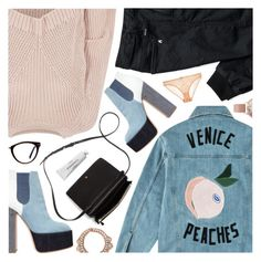 """Venice Queen, Red Hot Chilli Peppers"" by blendasantos ❤ liked on Polyvore featuring Être Cécile, River Island, Marc Jacobs, Laurence Dacade, Mignonne Gavigan, Olivia Burton, GlassesUSA, STELLA McCARTNEY and Byredo"