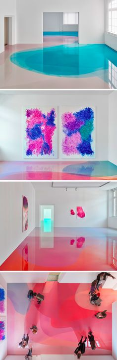 Square Feet of Candy-Colored Resin Layered Onto the Floor of a German Museum. I would love this floor in my art studio! Colossal Art, Objet D'art, Candy Colors, Resin Art, Installation Art, Square Feet, Amazing Art, Awesome, Arquitetura