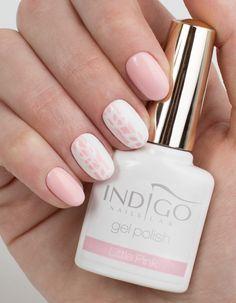 by Paulina Walaszczyk. Find more inspiration at www.indigo-nails.com #nailart #nails #indigo #pastel #pink