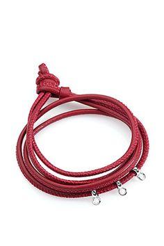 Esprit - Lederarmband Red im Online Shop kaufen