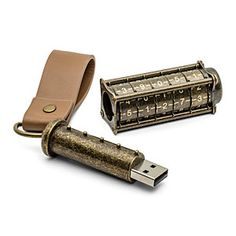 18 Wacky Flash Drives Every Geek Needs - Steampunk Security - Slideshow from PCMag.com