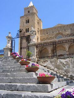 Cathedral in Cefalu, Province of Palermo, Sicily region Italy  #palermo #sicilia #sicily