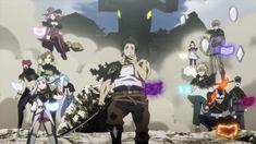 Black Clover Wallpaper, Espada Anime, Anime Manga, Anime Art, Clover 3, Black Clover Anime, Laptop Wallpaper, Black Cover, Cartoon