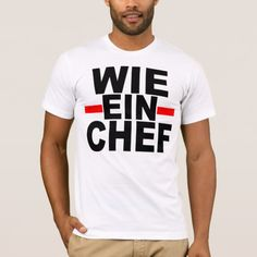 LIKE A BOSS: GERMAN. wie ein Chef T-Shirt