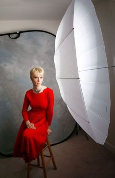 Because it produces broad, soft lighting, photographic umbrellas are often used for fill but that doesn't mean you can't let umbrellas totally light your portrait subject, especially with a large p…