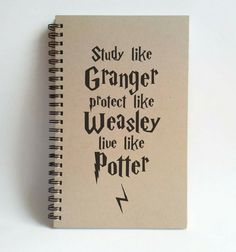 Check out this item in my Etsy shop https://www.etsy.com/listing/242250344/study-like-granger-protect-like-weasley