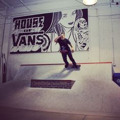 House of Vans em Brooklyn, NY