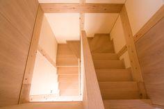 階段の中壁を薄くすることにこだわる | 第4回家づくり大賞