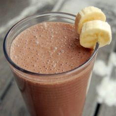 Morning Energy Blast | NutriLivingIngredients 1 Banana 2 tbsp. Peanut Butter ½ cup(s) Greek Yogurt 2 tbsp. Cacao (raw, powder, nibs, or beans) 1 dash Cinnamon Ice Cubes Water to MAX LINE
