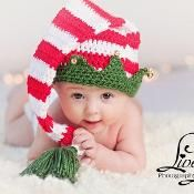 Christmas Elf Hat with Bells - via @Craftsy