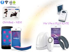 THE BEST PRESENT FOR HER COLLECTION OHMIBOD NEX1 AND WE VIBE 4 PULS SLATE