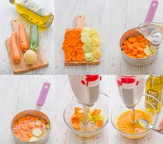 Healthy Baby Food, Healthy Lunches For Kids, Easy Healthy Recipes, Food Baby, Baby Puree Recipes, Pureed Food Recipes, Baby Food Recipes, Toddler Meals, Kids Meals