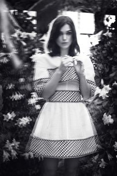 Keira Knightley. Photo: Emily Hope for Rika, S/S 2013.