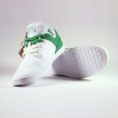 Fab.com | Originals Sneakers White Green