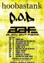 Three Californian bands Hoobastank, P.D and Alien Ant Farm have confirmed a UK tour, stopping at Motion in Bristol on Thursday 14 May Tickets are available now priced plus booking fee. Alien Ant Farm, Hoobastank, Live Music, Ants, Concerts, Bristol, Festivals, Thursday, Tours