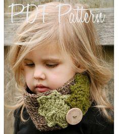 Crochet PATTERNThe Holleigh Warmer Toddler Child by Thevelvetacorn