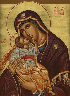 mother of god glykophilousa