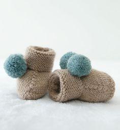 Modèle chausson bébé - Modèles Layette - Phildar