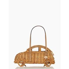 vita riva wicker car by kate spade I can't help but loving this ridiuculous thing. Saw it in store and its so beautifully designed