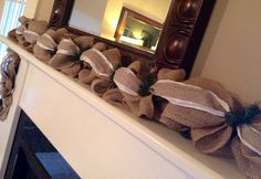 On Item Shown) Build Your Own Burlap Garland