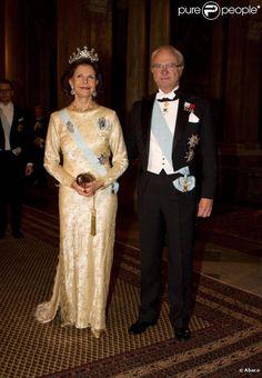 roi Charles XVI Gustave, reine Silvia