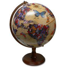 Flutter Butterfly Globe.