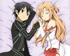 [ Sword Art Online ] - Pic by: - Character. [ Sword Art Online ] – Pic by: – Characters: Asuna and Kirito… – Otaku Anime, Anime Sasuke, Manga Anime, Art Manga, Manga Girl, Anime Girls, Schwertkunst Online, Online Anime, Anime Backgrounds Wallpapers