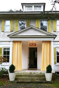 Front porch idea!!! Estate Eclectic: Home By Novogratz