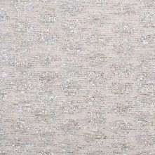 Lisa Perry Italian Metallic Silver/Ivory Blended Cotton Brocade