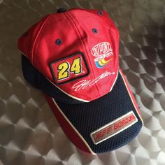 327660154aeebb 🏁🔥Jeff Gordon Motor Sport Cap 🔥🏁 Really dope, very rare and sick. Depop