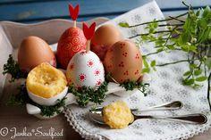 Eierlikörkuchen im Ei