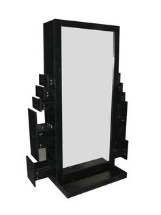 salon stations   ... Salon Deco Odessey Genesis Double Styling Station Manufacture Direct
