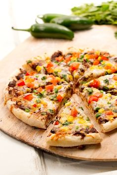 #Food: Mexican #Pizza | #recipe via @aCoupleCooks