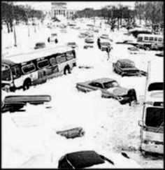 Chicago, Jan. 27th, 1967  not quite 45 years ago to the day....  blizzards....