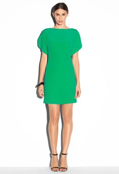 DOLMAN SLEEVE DRESS - SPRING FLING - Featured MILLY NY