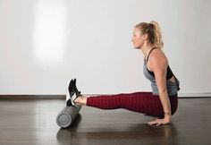 Foam rollers are famous for giving great massages: you just roll your target body part over this handy cylinder. But you can also use a roller as part of a strength workout, where it fills in for exer