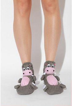 Hippo socks, gotta make these for my sista