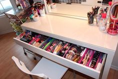 Makeup Storage Ideas - . ...that's a lot of make up!