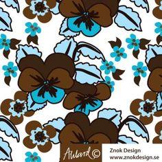 Viol, Fabric design for www.znokdesign.se  Jersey