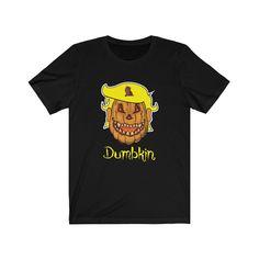 Trump Pumpkin, Trump Halloween, Halloween Season, Jersey Shorts, Short Sleeve Tee, Tees, Shirts, Etsy Shop, Unisex