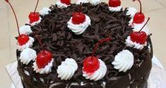 Kali ini saya akan berbagi Resep Mudah Cara Membuat Black Forest Enak dan Lembut untuk kalian. Bolu Cake, Simple Cake Designs, Resep Cake, Black Forest Cake, Happy Birthday Cakes, Birthday Wishes, Bread Cake, Dessert Recipes, Desserts