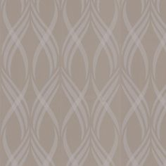 Graham & Brown 56 sq. ft. Neo Taupe Wallpaper-30-316 - The Home Depot