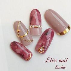 秋/冬/パーティー/女子会/ハンド - Bliss☆Sachiのネイルデザイン[No.2567995]|ネイルブック
