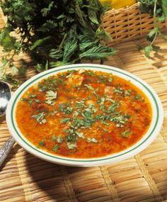Recette soupe de légumes marocaine -