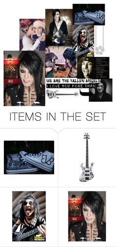 """""""BVB binder pics 1"""" by motherlee on Polyvore featuring art"""