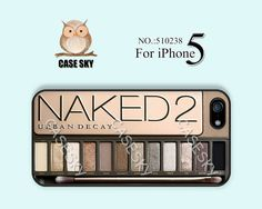 iPhone 5 Case, Eyeshadow Makeup Set - Girly Make Up, NAKED2, iPhone Case, Plastic Phone Cases, Case for iPhone-510238 on Etsy, $9.99