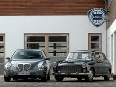 Lancia Thesis (sx) and Flaminia (dx)
