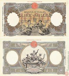 1aefe99e8a 91 fantastiche immagini su Banconote della lira italiana   Banknote ...