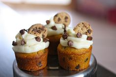 Chocolate chip cupcakes...