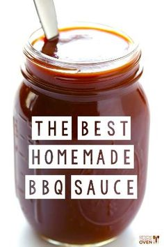 Homemade Kansas City BBQ Sauce: 1 (15 oz.) can tomato sauce 1/2 cup apple cider vinegar 1/3 cup honey or agave nectar 1/4 cup tomato paste 1/4 cup molasses 3 Tbsp. worcestershire 2 tsp. liquid smoke* 1 tsp. smoked paprika 1 tsp. garlic powder 1/2 tsp. freshly-ground black pepper 1/2 tsp. onion powder 1/2 tsp. salt (optional: a few pinches of cayenne powder for extra heat, which I recommend) by DRAGONFLIES